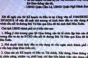 Đà Nẵng lên tiếng văn bản giả mạo UBND thành phố để tạo cơn sốt đất