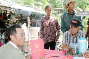 'Ém' hàng chục giấy CNQSDĐ của dân hơn 10 năm