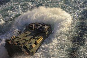 Mục kích Thủy quân Lục chiến Mỹ đổ bộ như 'vũ bão' lên Na Uy
