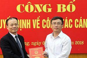 Bắc Giang: Điều động, bổ nhiệm hàng loạt cán bộ giữ vị trí quan trọng