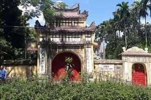 Rắc rối quanh hàng rào phủ Tùng Thiện vương