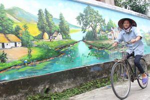 Bích họa, đường hoa thay đổi bộ mặt làng quê