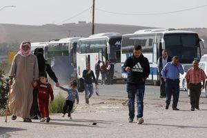Hàng ngàn người đối mặt với nạn đói tại trại tị nạn Syria