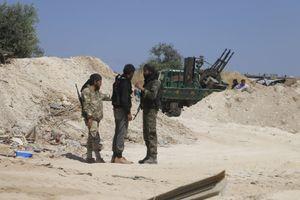 Phiến quân sắp dàn dựng tấn công bằng vũ khí hóa học ở Syria?
