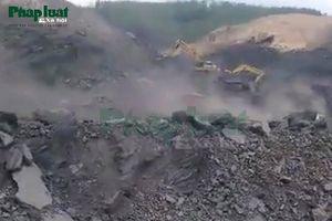 Khai thác khoáng sản trái phép 'đội lốt' dự án lấy đất xây dựng nghĩa trang?