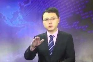 BTV vẫn ghi hình giữa động đất rung chuyển 'gây sốt' cộng đồng mạng