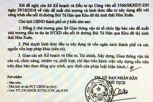 Chủ tịch Đà Nẵng đề nghị điều tra vụ làm giả văn bản để thổi giá đất