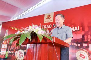 Trao giải Chương trình khuyến mại Bia Hà Nội 450ml 'Chai lớn-Giải to'
