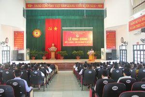 Khai giảng lớp học đào tạo nghiệp vụ xét xử tại Thanh Hóa