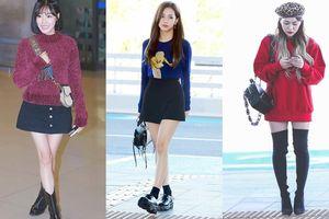 Học lỏm cách diện áo sweater trẻ trung và sành điệu như các mỹ nhân xứ Hàn