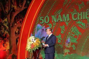 Thủ tướng Chính phủ Nguyễn Xuân Phúc dự Lễ kỷ niệm 50 năm Chiến thắng Truông Bồn