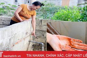 Chi 600 ngàn đồng/tháng mua nước sạch, người dân Thạch Trị nói gì?