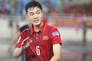 Xuân Trường: 'Chúng tôi quyết tâm làm ngôi sao trên ngực áo tuyển Việt Nam tỏa sáng ở AFF Cup'