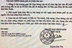 Đà Nẵng: Công an điều tra vụ tung văn bản giả để thổi giá đất