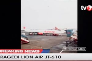 Khoảnh khắc hành khách bước lên chuyến bay định mệnh Lion Air