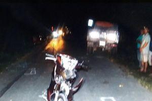 Điều tra nguyên nhân vụ tai nạn khiến người điều khiển xe máy tử vong