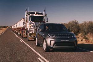 Clip: Loạt xe SUV, bán tải trổ tài kéo máy bay