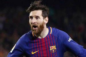 Top 10 ngôi sao có mức thu nhập khủng nhất thế giới năm 2018: Messi vượt mặt Ronaldo