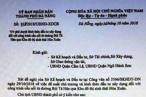 Đà Nẵng: Giao công an vào cuộc vụ văn bản giả mạo nhằm tạo cơn sốt đất