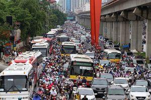 Hà Nội triển khai đề án thu phí xe vào khu vực ùn tắc