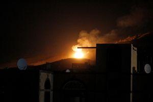 Liên minh Saudi không kích Yemen bất chấp kêu gọi ngừng bắn của Mỹ