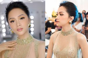 Sau tin đồn được cầu hôn, Hương Giang diện váy xuyên thấu lấp lánh khoe hình thể 'Vệ nữ' đi sự kiện