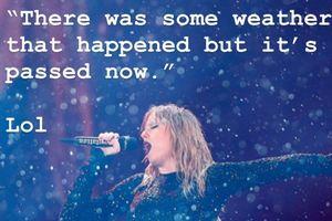 Reputation tour tại Sydney: Có ai dầm mưa hát mà đẹp đến xốn xang như Taylor Swift?