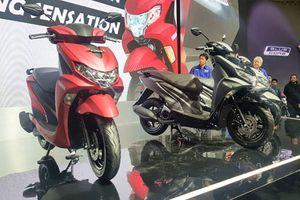 Yamaha 'tăng lực' vào phân khúc xe tay ga, cạnh tranh Honda