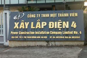Hà Nội: Đổ cột điện bốn công nhân nhập viện