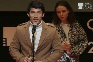 Liên Bỉnh Phát nhận giải Viên ngọc quý Tokyo: 'Tôi muốn diễn vai người hùng cứu thế giới'