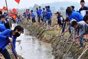 Nghệ An: Huy động hơn 20.000 nhân công ra quân làm thủy lợi