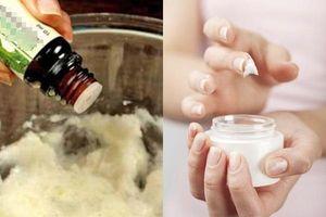 Trích vitamin E trộn với 4 thành phần này, bạn sẽ có ngay lọ kem dưỡng ẩm giúp da mướt mịn, trắng hồng như gái Hàn