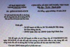 Đà Nẵng: Giả mạo công văn của Chủ tịch UBND thành phố để tạo cơn sốt đất