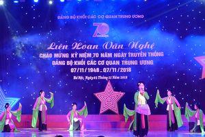 24 tiết mục đặc sắc tại Liên hoan văn nghệ của Đảng bộ khối các cơ quan Trung ương