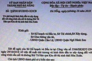 Giả văn bản của Chủ tịch thành phố để đẩy giá đất tại Đà Nẵng