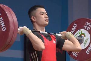 Thua kỷ lục gia Om Yun Chol, Lại Gia Thành giành HCB cử đẩy hạng 55 kg