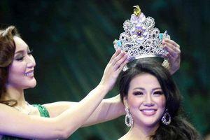 Nguyễn Phương Khánh bật khóc khi đăng quang Hoa hậu Trái đất 2018
