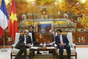 Hà Nội tăng cường hợp tác với AFD trên nhiều lĩnh vực