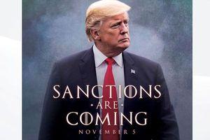 Ông Donald Trump chế ảnh, mượn thoại 'Trò chơi vương quyền' cảnh báo trừng phạt Iran
