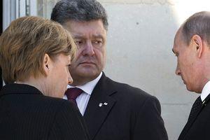 Bộ Tứ Normandy không họp, nỗ lực Merkel thất bại