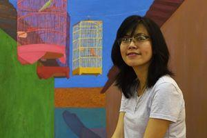 Tự sự của Nguyễn Ngọc Đan qua tranh vẽ