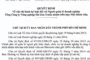 TP HCM: Tăng mức kỷ luật ông Lê Tấn Hùng