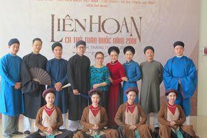Đặc sắc Liên hoan Ca trù toàn quốc năm 2018 tại Hà Tĩnh