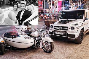 Siêu xe, môtô khủng tại đám cưới biker 'khét tiếng' VN