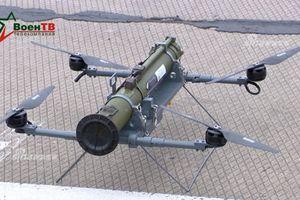 Lạ lẫm UAV kiêm tổ hợp tên lửa chống tăng bay của Belarus