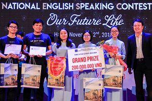 Học sinh Đà Nẵng vô địch cuộc thi hùng biện tiếng Anh toàn quốc