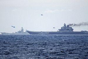 Nga tuyên bố về cuộc tập trận 'Lá chắn đại dương' trên Địa Trung Hải