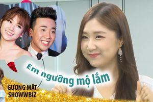 Jin Ju ngưỡng mộ tình yêu của Trấn Thành và Hari Won