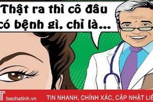 Bệnh nhân choáng với giải pháp của bác sĩ