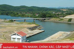 Hà Tĩnh đề nghị xếp hồ Ngàn Trươi là hồ chứa thủy lợi quan trọng đặc biệt